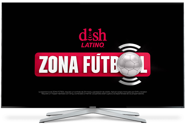 Zona Fútbol on the DISH Hopper