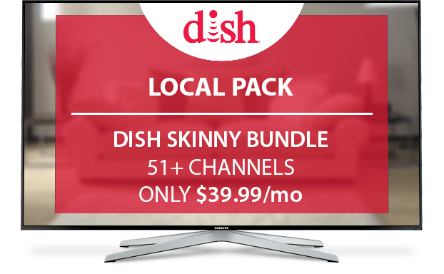 DISH Local Channels Pack - $12/Mo.
