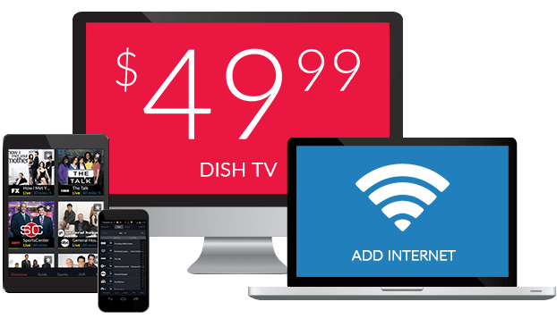 Dish TV + High Speed Internet at One Low Price