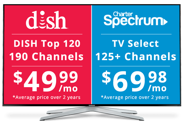 DISH vs Charter: Channel Packages