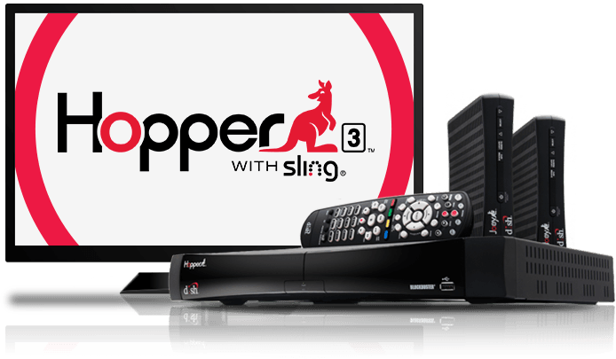 Hopper HD DVR Whole Home Entertainment