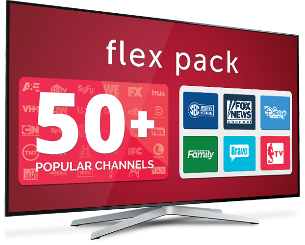 DISH Network Flex Pack Skinny Bundle Deal