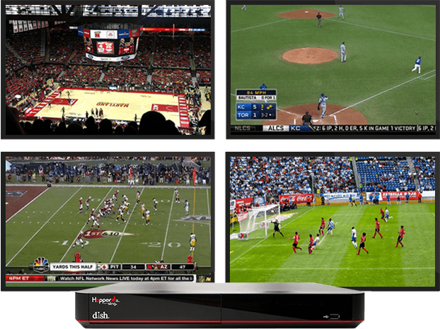 DISH Sports Pack, DISH Sports Channels