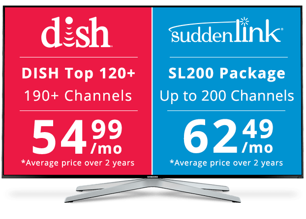 Dish vs suddenlink comparison review dish suddenlink for Suddenlink customer service