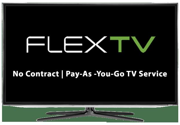 Flex TV Pay-As-You-Go TV Service