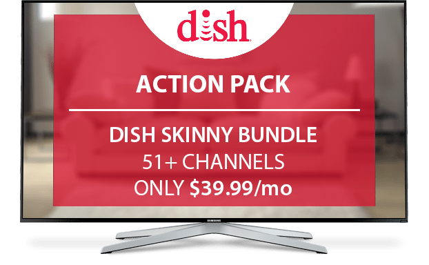 DISH National Action Channel Pack - $10/Mo.