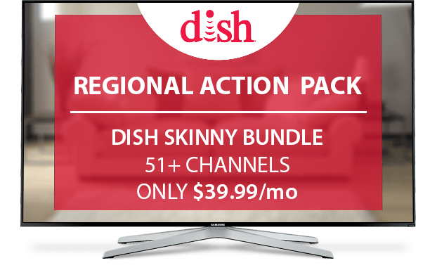 DISH Regional Action Pack - $10/Mo.