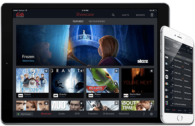 Watch TV Anywhere with DISH
