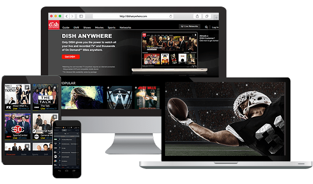 Stream TV Online with DISH Network