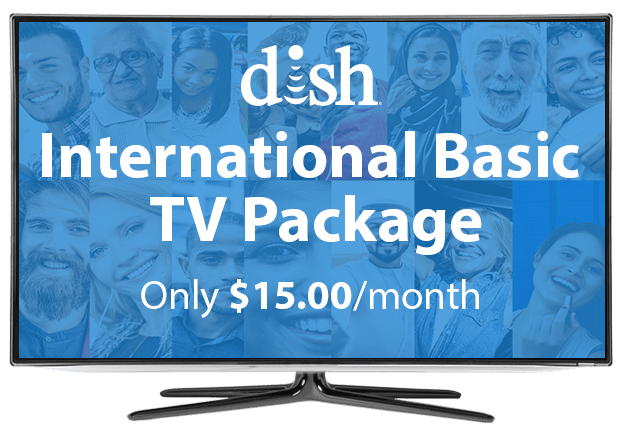 DISH International Basic Package