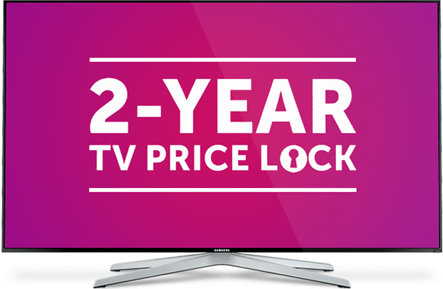 Save with DISH's 2 Year Price Lock Package Deal