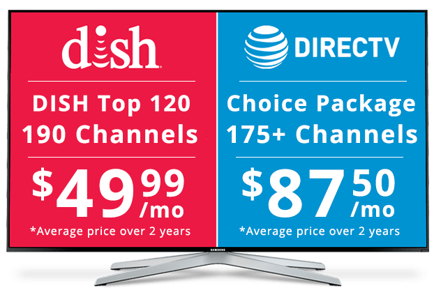 DISH vs DirecTV: Package Pricing