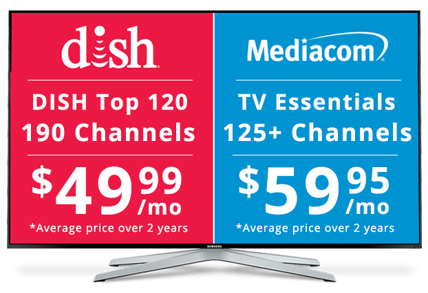 DISH vs Mediacom: Channel Packages