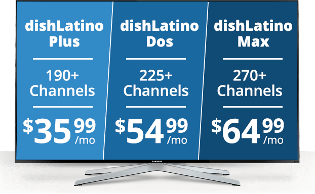 Choose Your DishLATINO Package