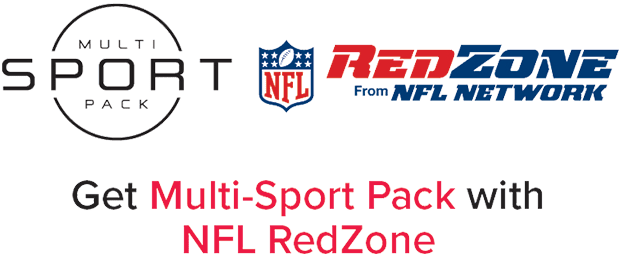 DISH Multi-Sport Pack with NFL RedZone is Now Included!