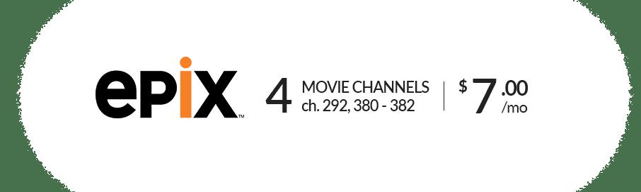 DISH EPIX Movie Package