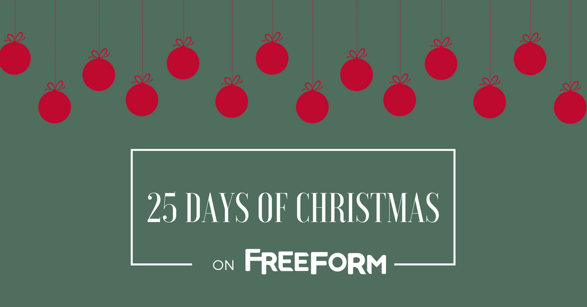 freeforms 25 days of christmas schedule planet dish