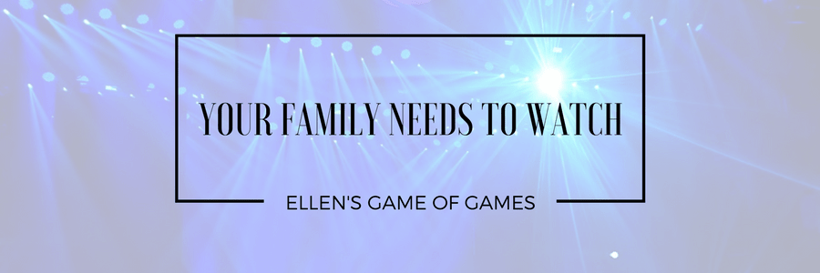 Ellen's Game of Games Pilot Review