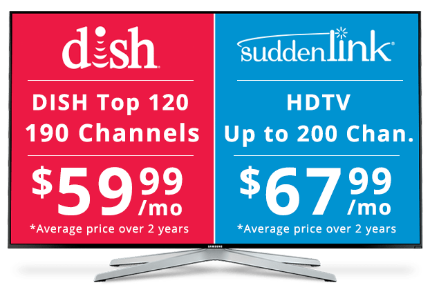 DISH vs Suddenlink: Channel Packages