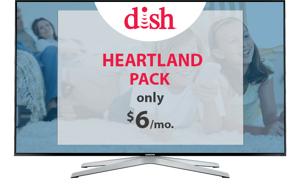 DISH Heartland Channel Pack - $6/Mo.