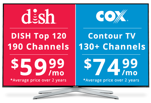 DISH vs COX: Channel Packages