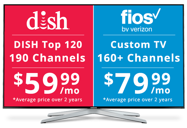 DISH vs Fios: Channel Packages