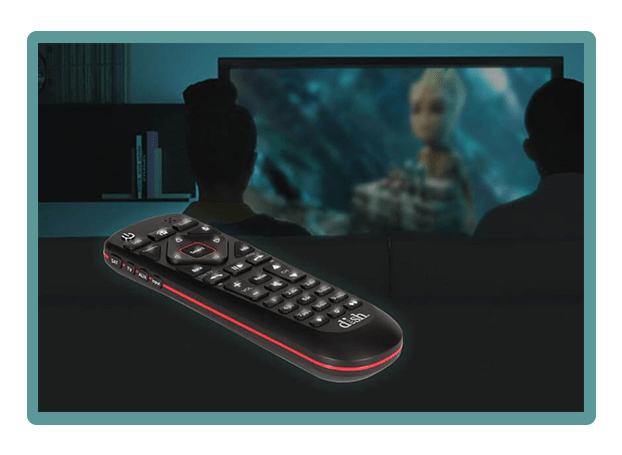 DISH Voice Remote Backlighting