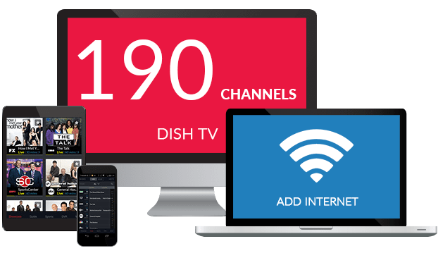 Save A Bundle With DISH Network TV & Internet!