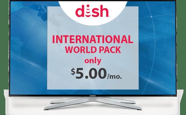 Watch International World With DISH