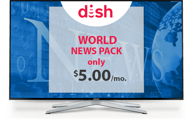 Watch International News With DISH