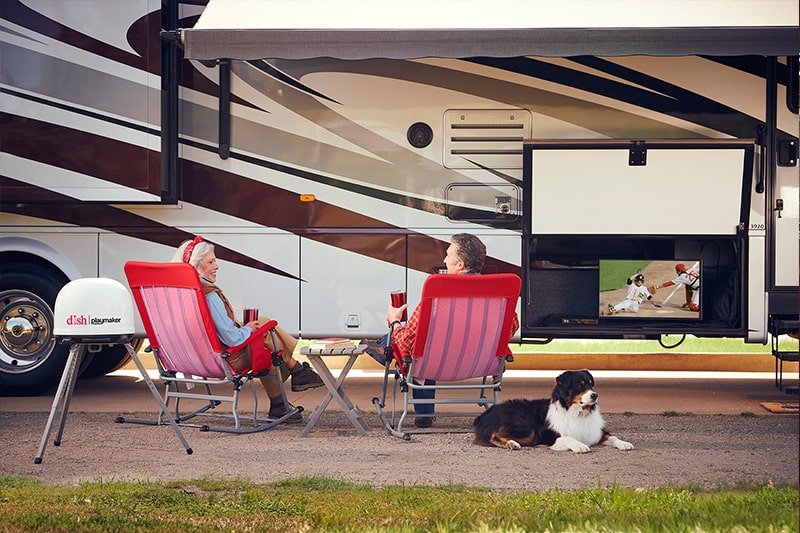 Choose the best Satellite RV TV Package