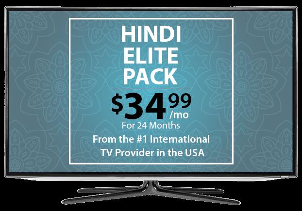 Hindi Mega Pack | Hindi TV Channels | DISH Hindi in the USA
