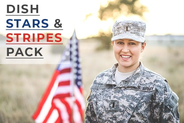 DISH Stars & Stripes Pack Included at No Cost!
