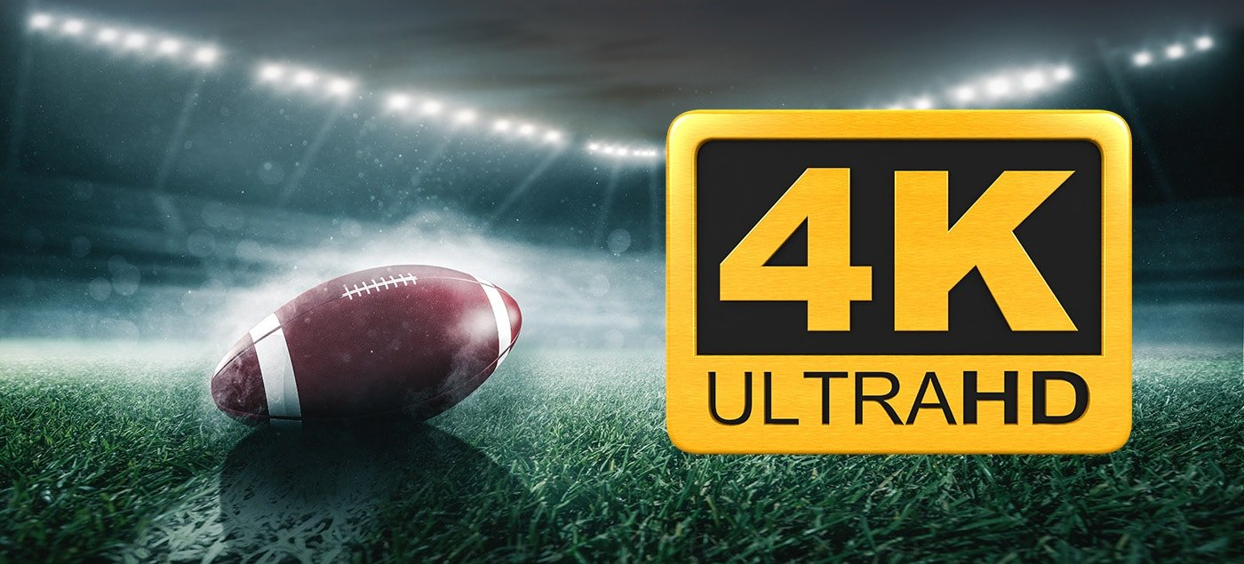 'Watch the Super Bowl in 4k On DISH